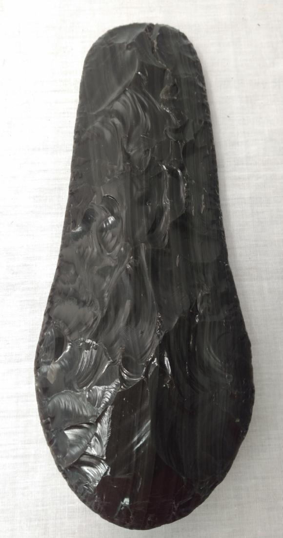 Large Obsidian Blade - 6