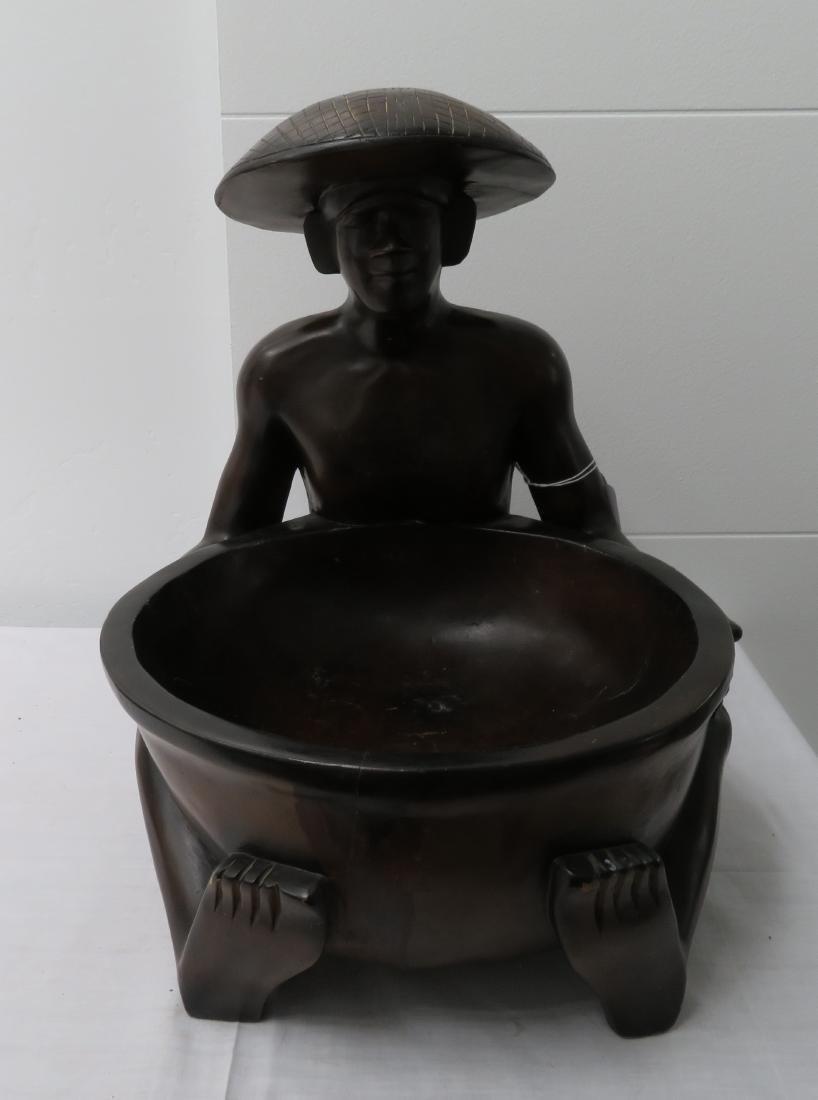 Human Effigy w/Large Bowl
