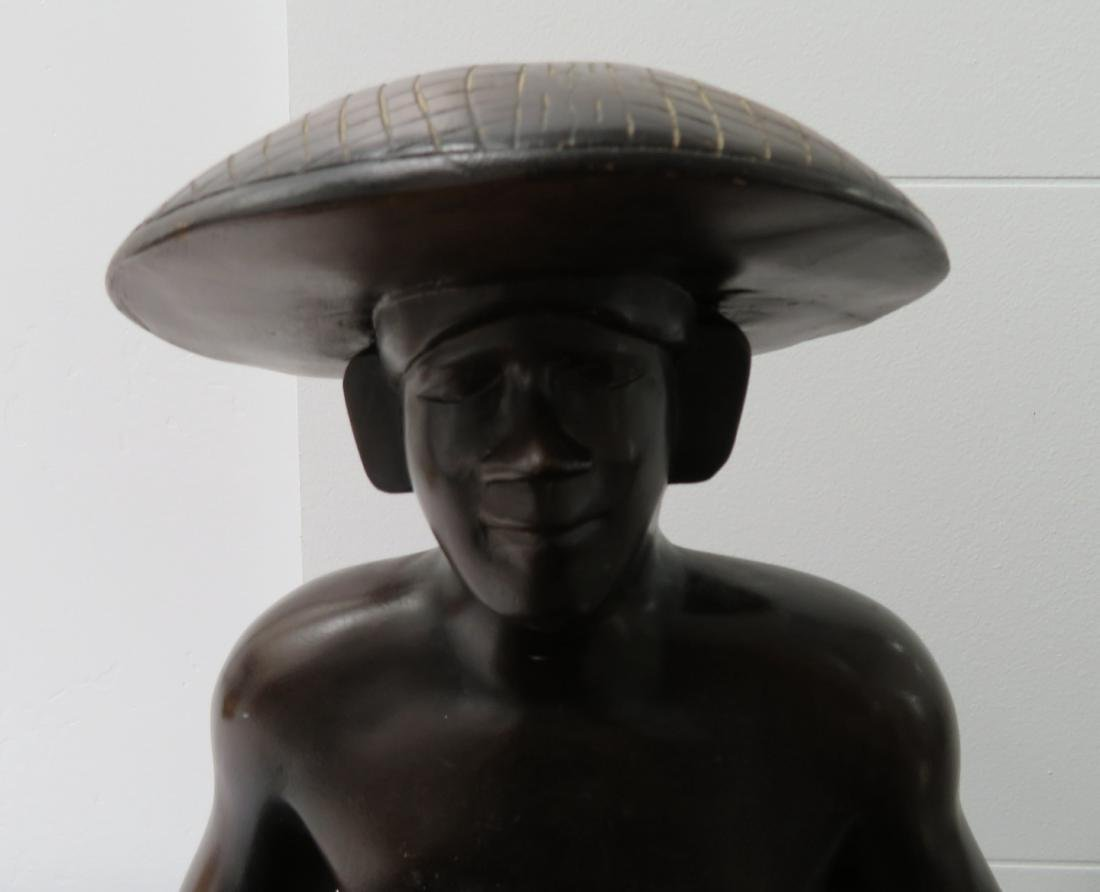 Human Effigy w/Large Bowl - 2