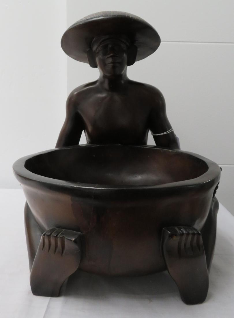Human Effigy w/Large Bowl - 5