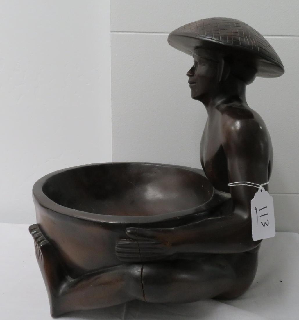 Human Effigy w/Large Bowl - 6