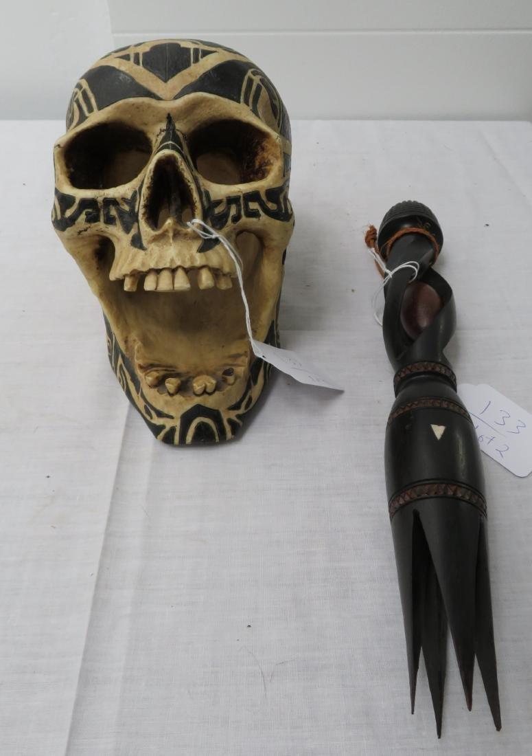 Cannibal Fork & Skull Copy