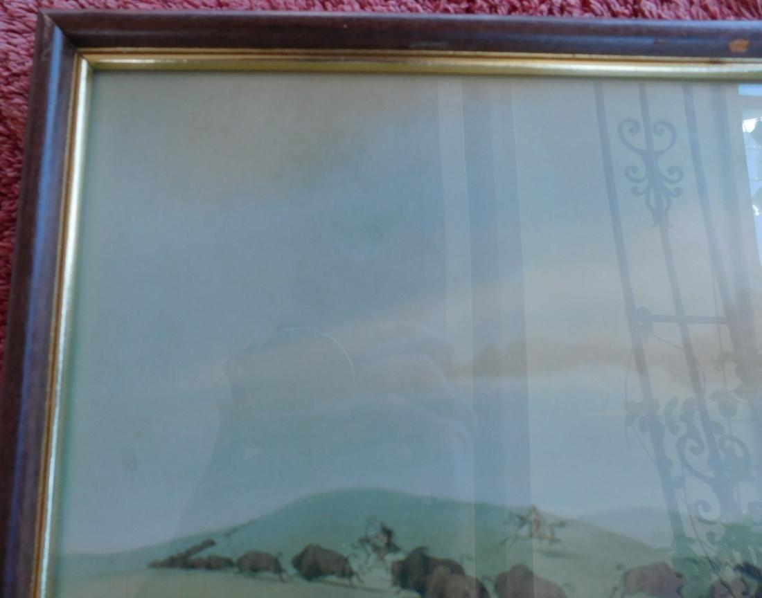 Framed George Catlin Print - 6