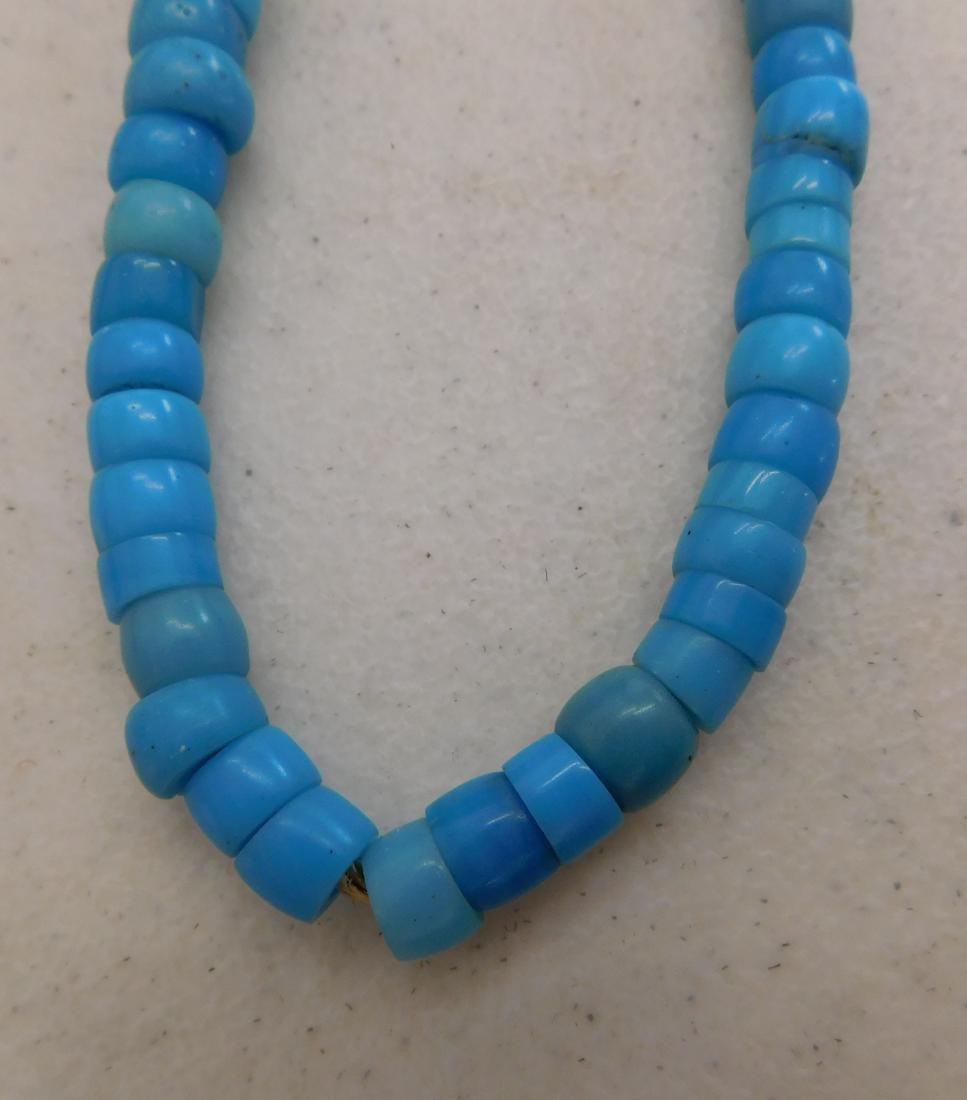 Robin's Egg Blue Trade Beads - 2