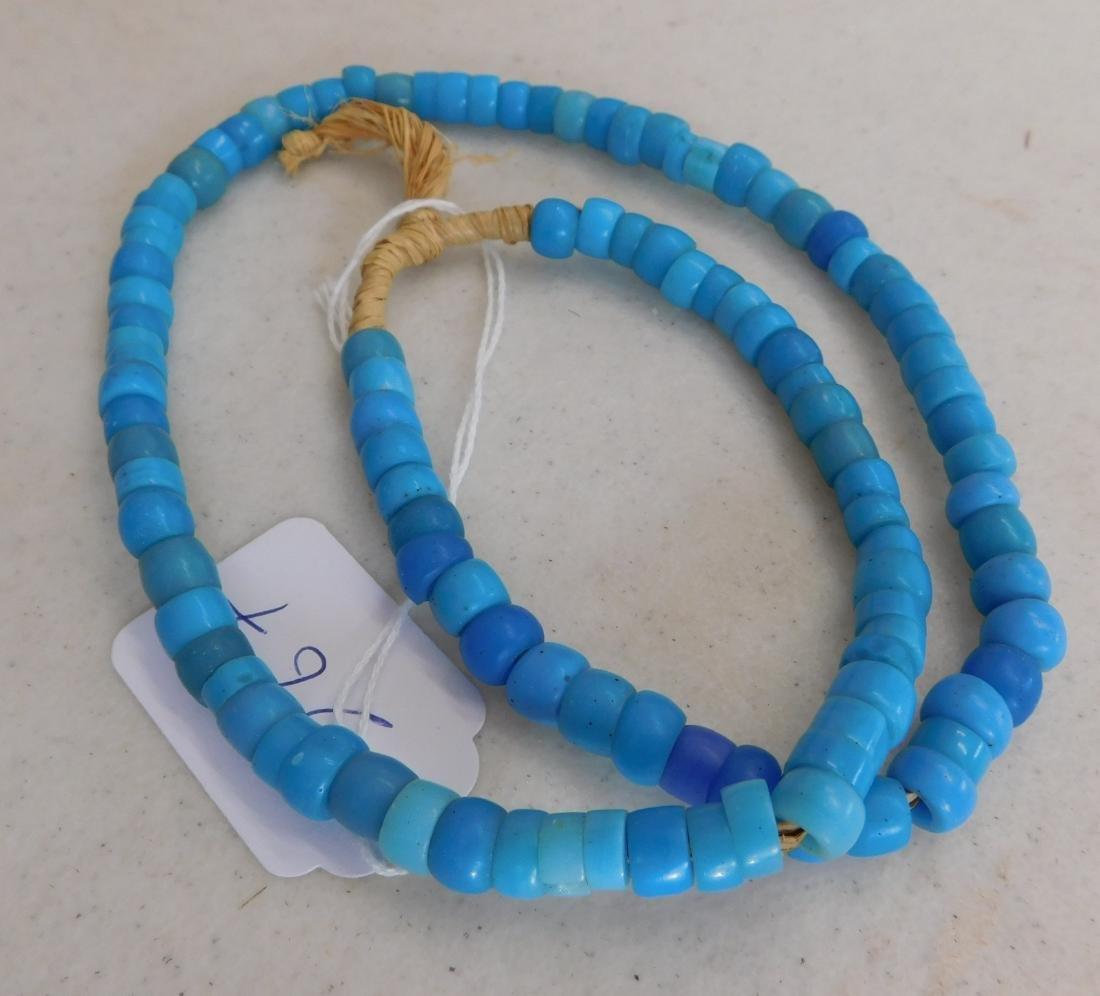 Robin's Egg Blue Trade Beads - 3