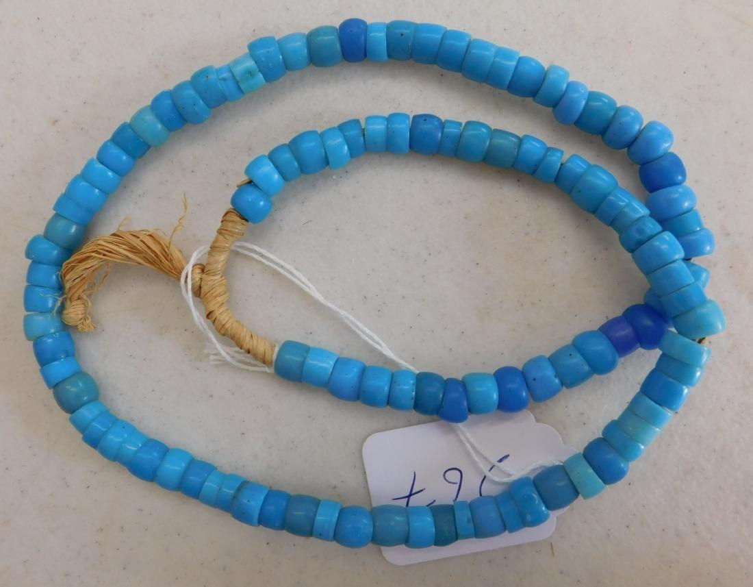 Robin's Egg Blue Trade Beads - 4