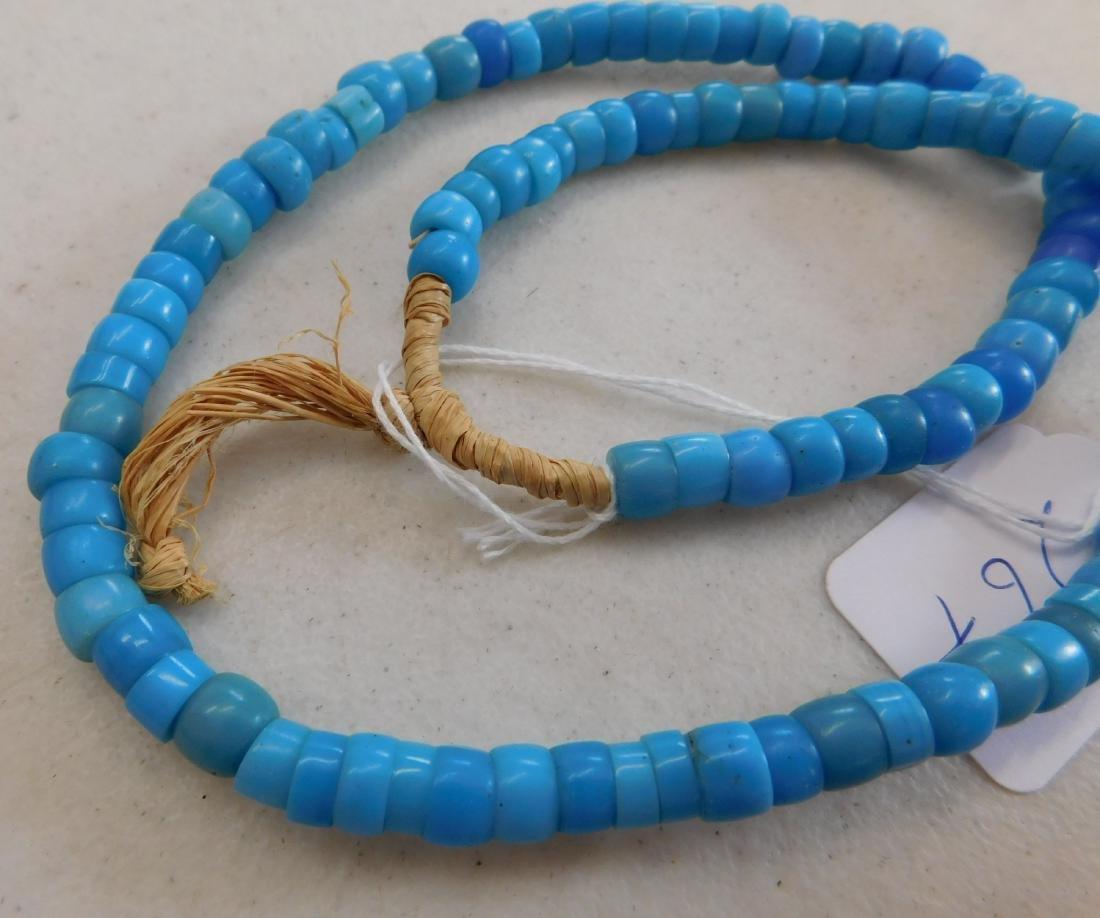 Robin's Egg Blue Trade Beads - 5