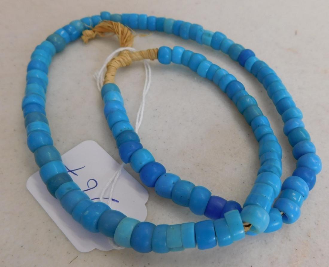Robin's Egg Blue Trade Beads - 6