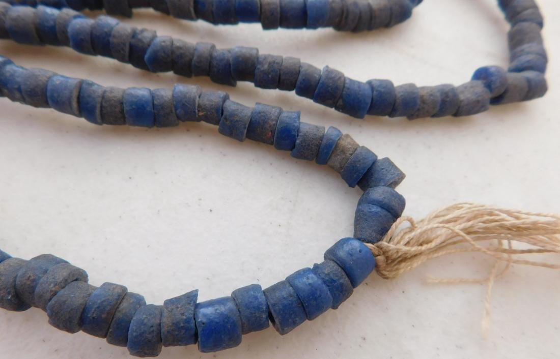 Cobalt Blue Trade Beads - 6