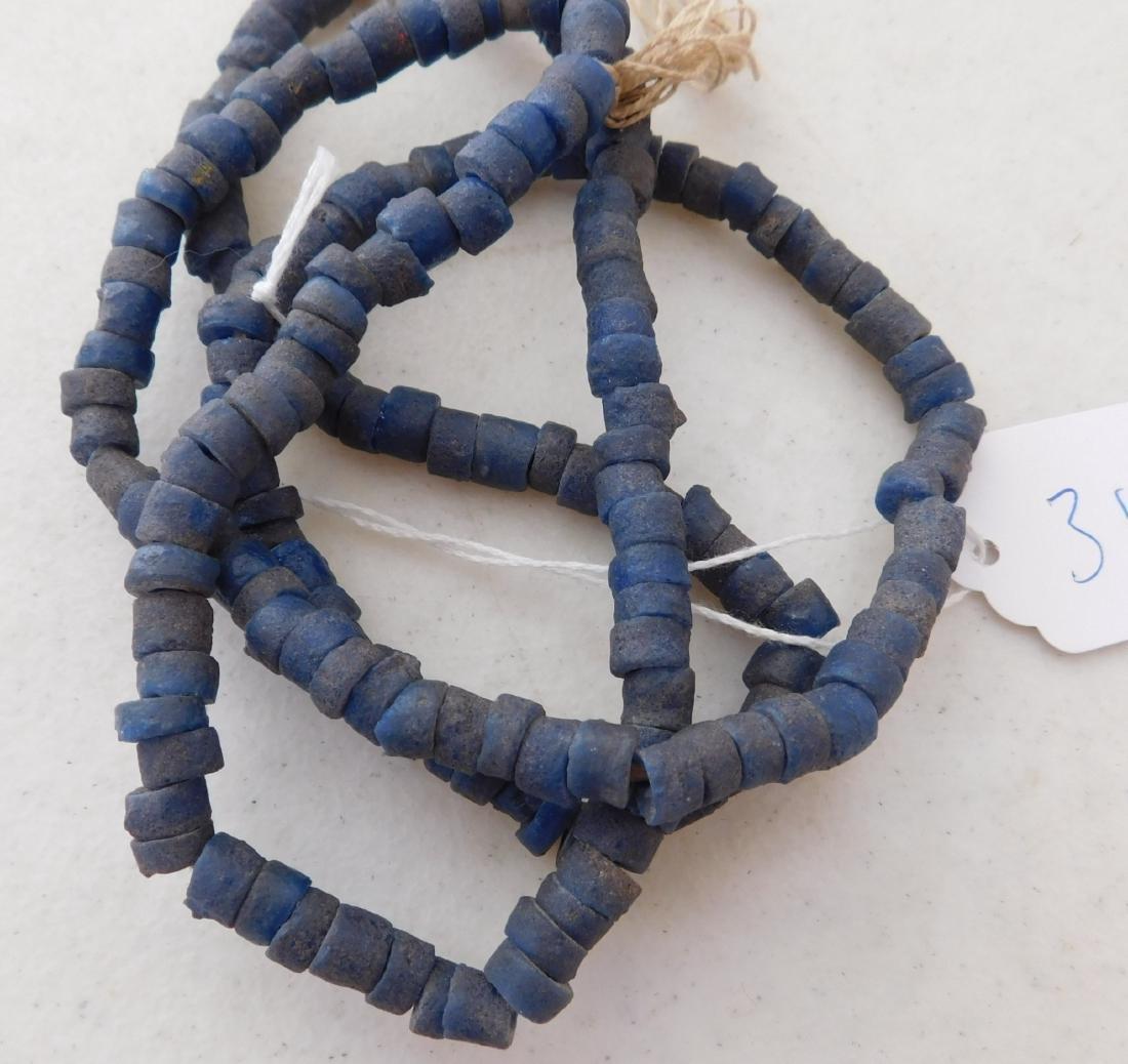 Cobalt Blue Trade Beads - 8