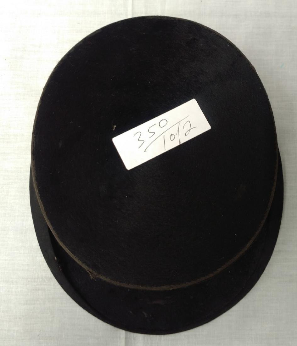 Antique Top Hat & Unusual Cane - 3