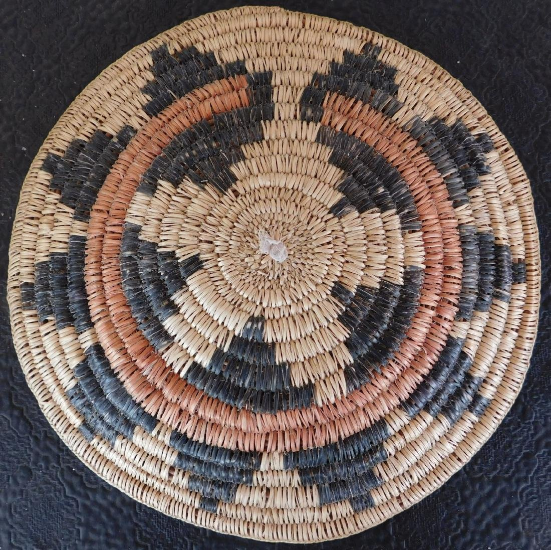 Navajo Wedding Basket - 7