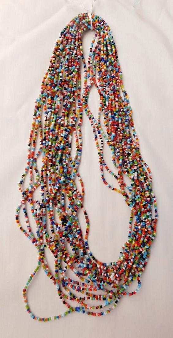 20 Strand Trade Bead Necklace