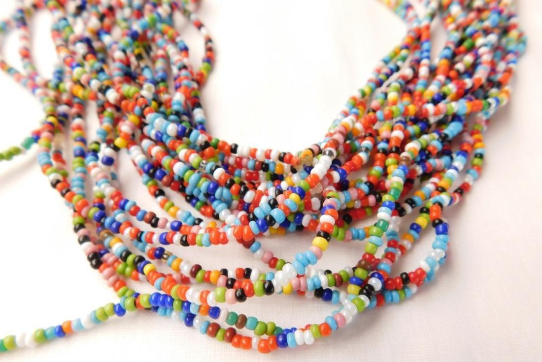 20 Strand Trade Bead Necklace - 2