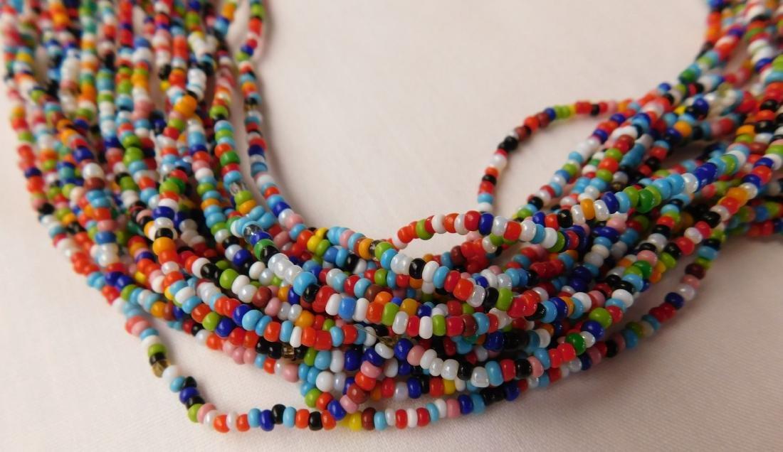 20 Strand Trade Bead Necklace - 3