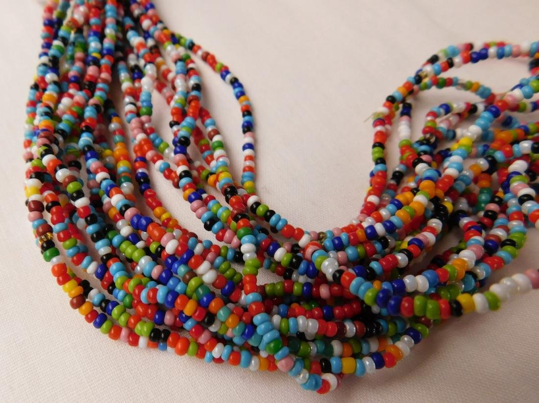 20 Strand Trade Bead Necklace - 4