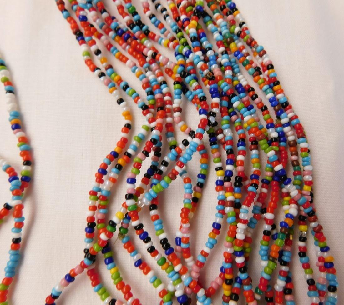20 Strand Trade Bead Necklace - 5