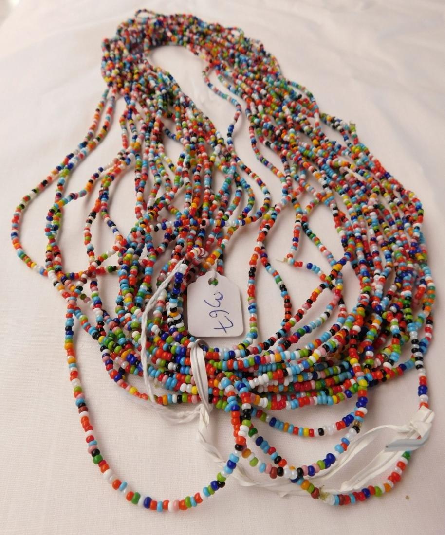 20 Strand Trade Bead Necklace - 7