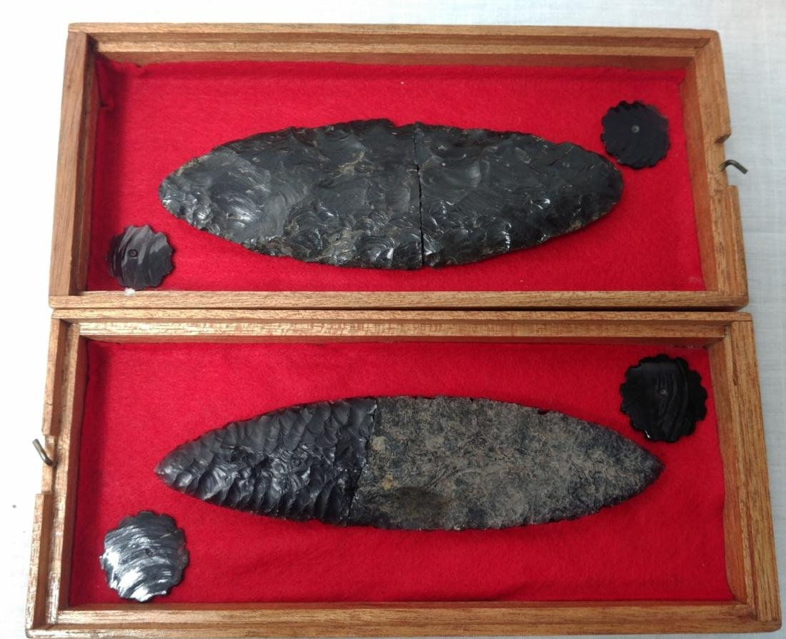 Pair of Pre-Columbian Blades