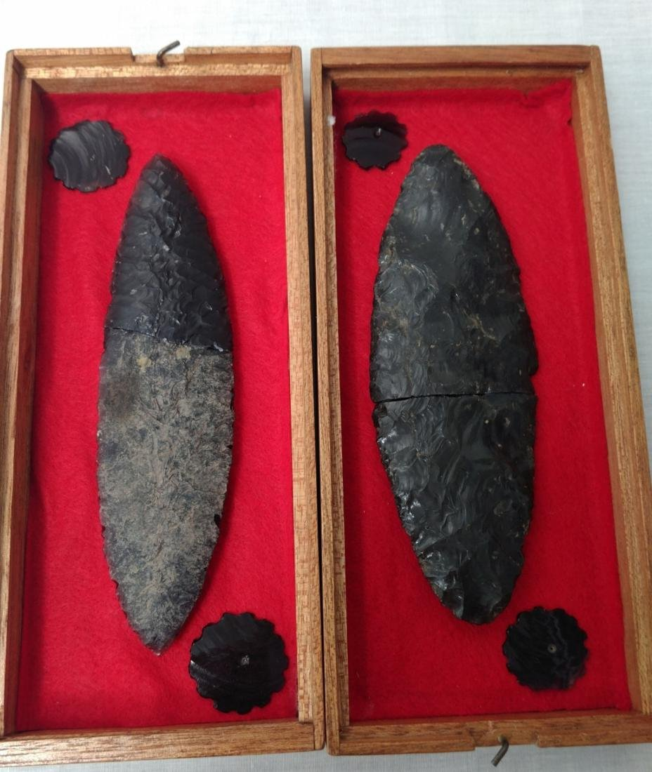 Pair of Pre-Columbian Blades - 8