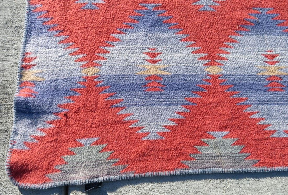 Large Native American-style Blanket - 2