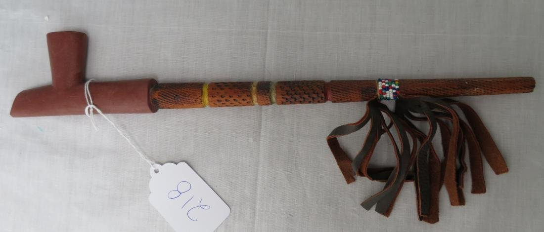Indian Peace Pipe - 6