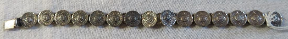 Antique Mexican Link Bracelet