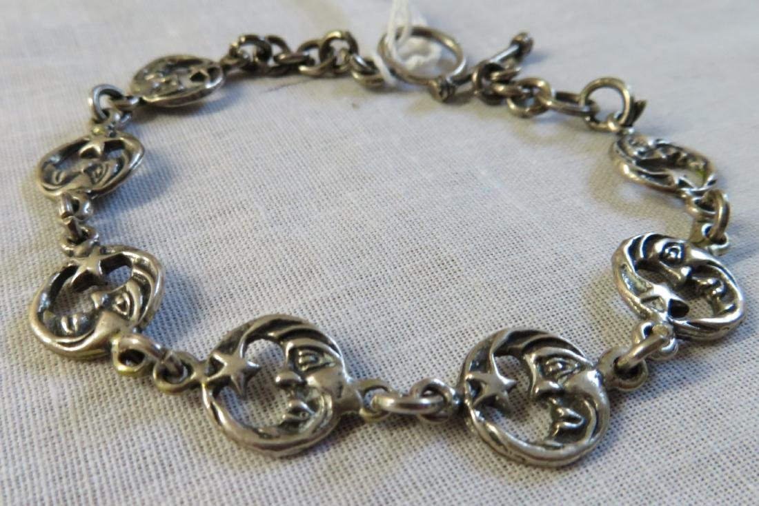 Mexican Sterling Silver Link Bracelet
