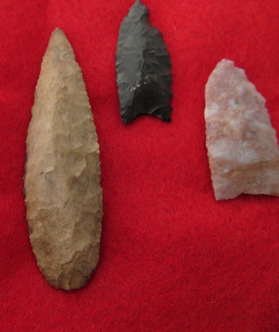 Bolivian Paleo Points w/Helm COA - 2