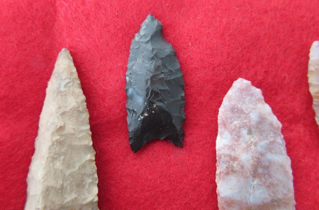 Bolivian Paleo Points w/Helm COA - 3