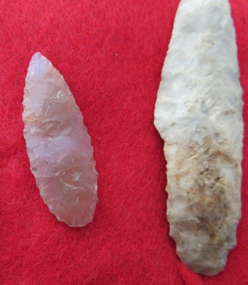 Bolivian Paleo Points w/Helm COA - 5