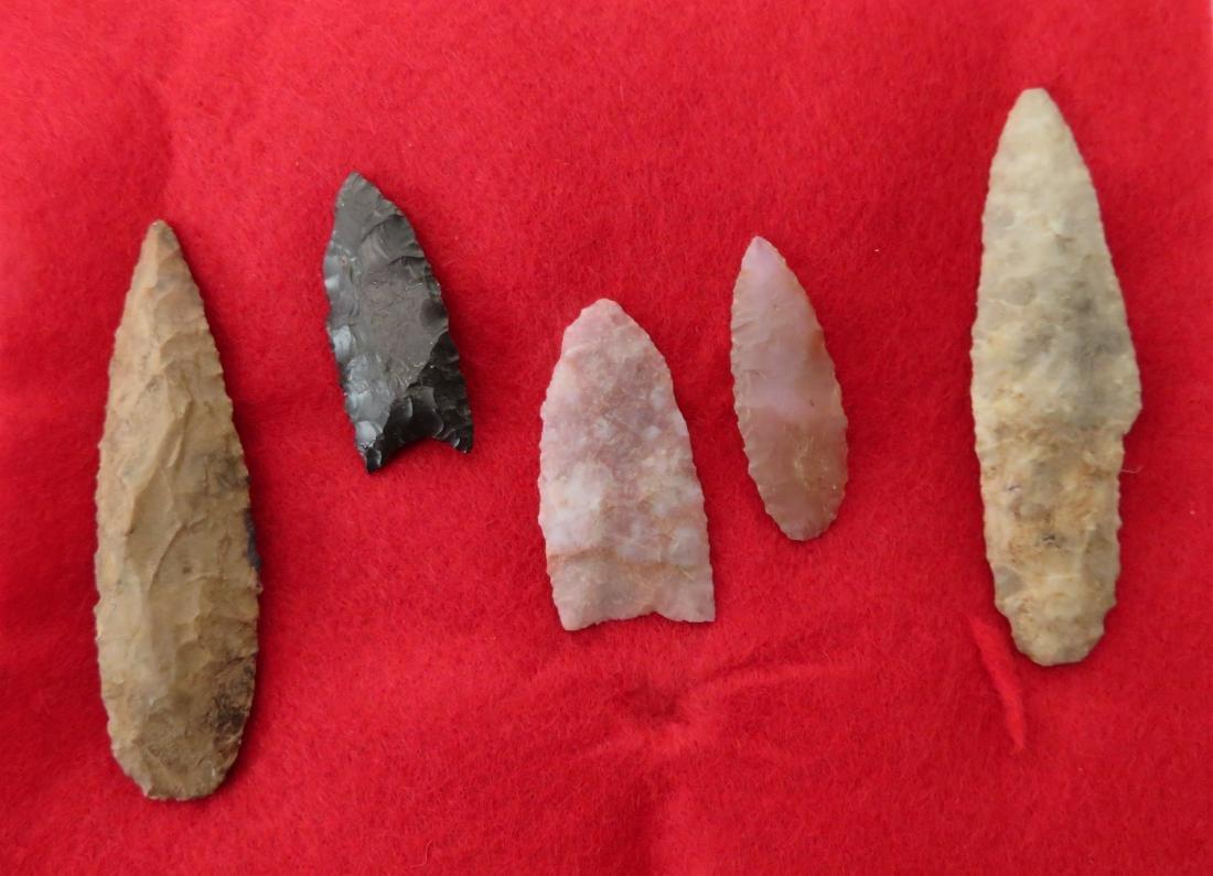 Bolivian Paleo Points w/Helm COA - 7