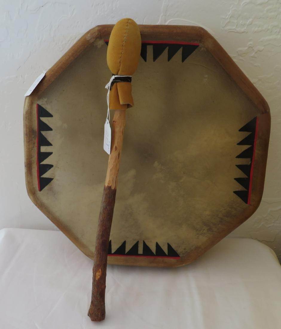 Plains Indian Drum w/Beater