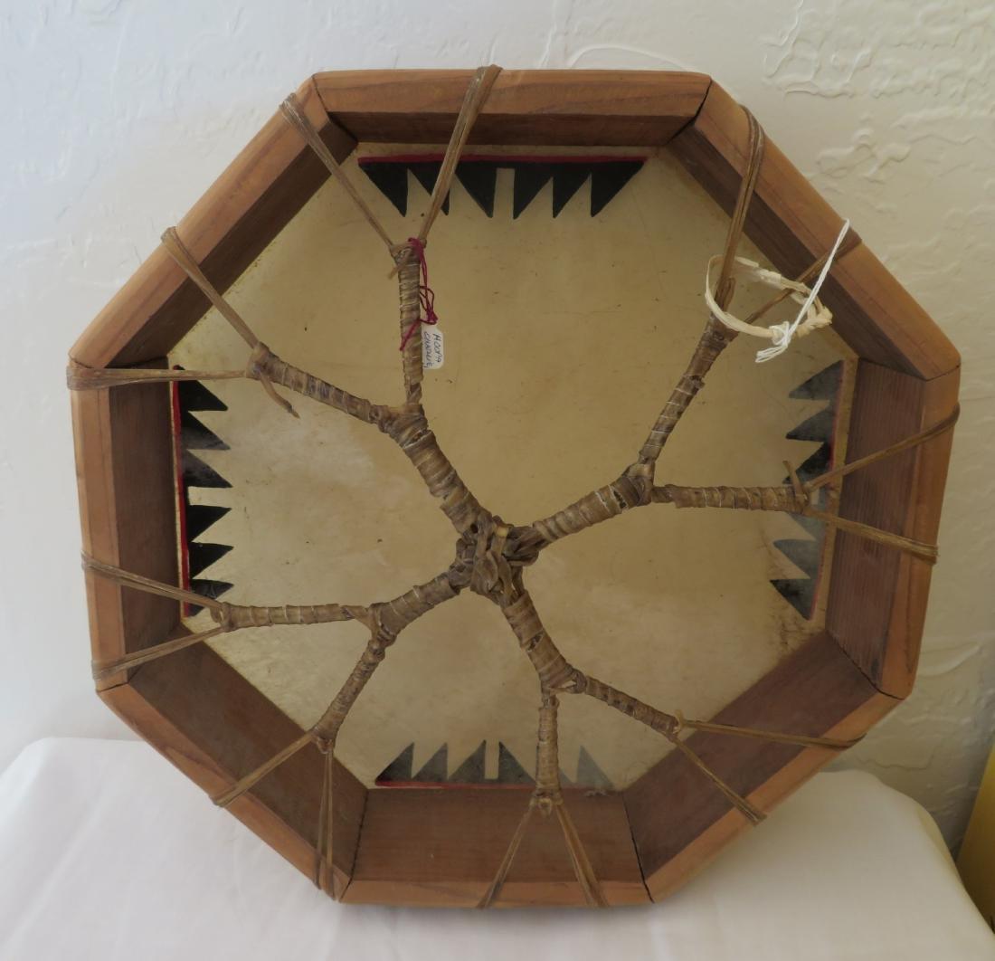 Plains Indian Drum w/Beater - 5
