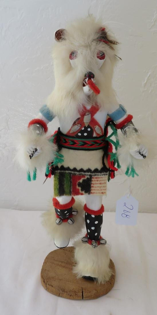 Hopi White Bear Kachina