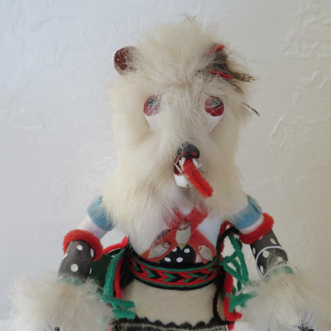 Hopi White Bear Kachina - 2