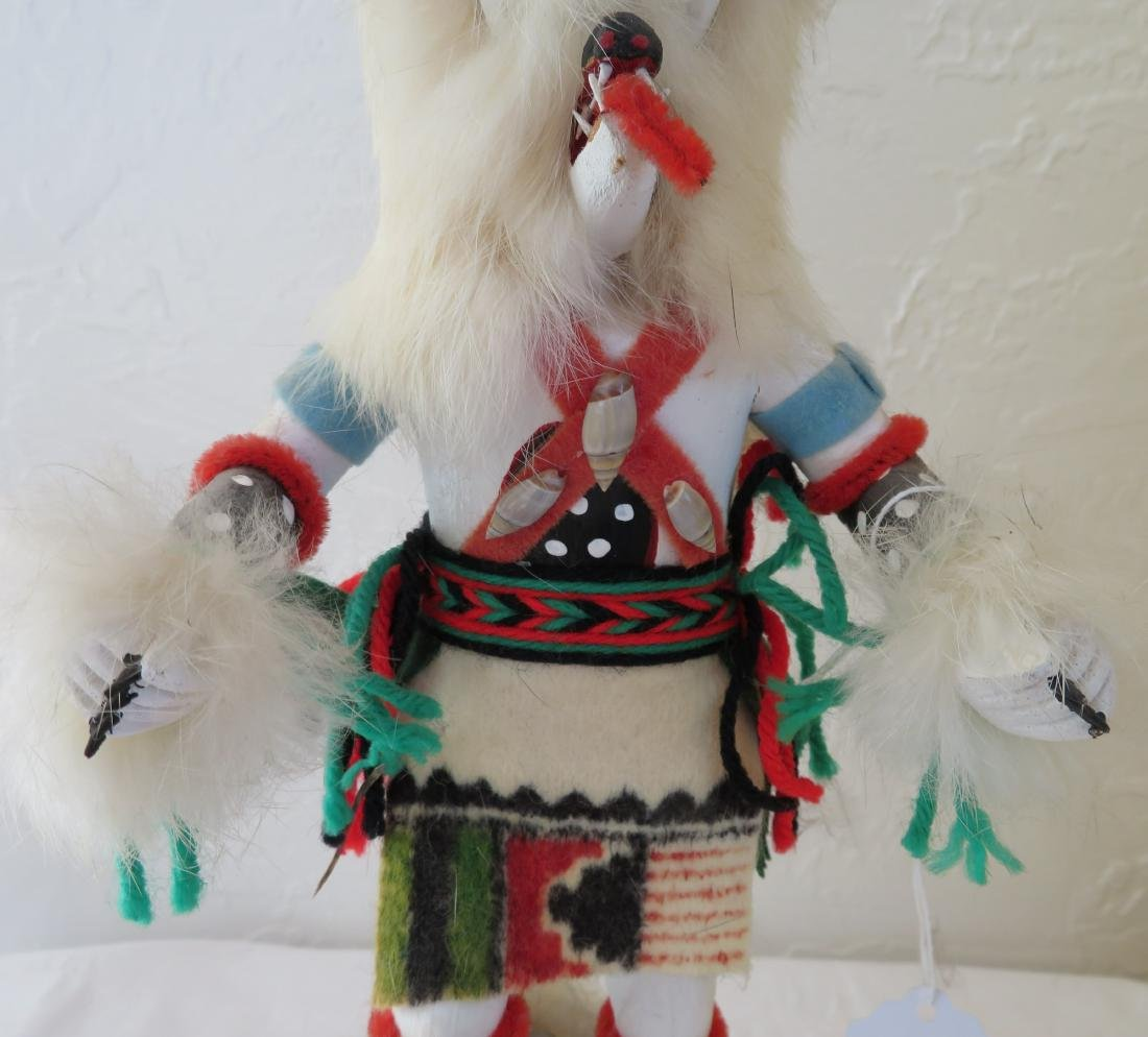 Hopi White Bear Kachina - 3