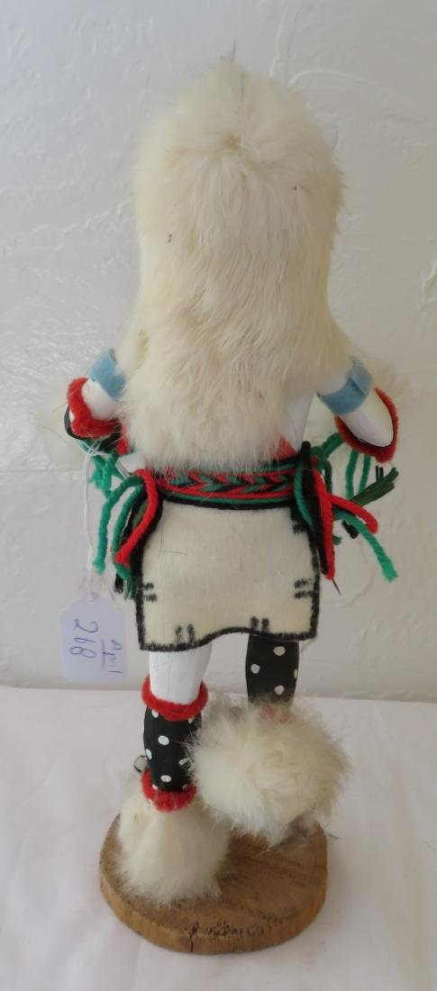 Hopi White Bear Kachina - 7