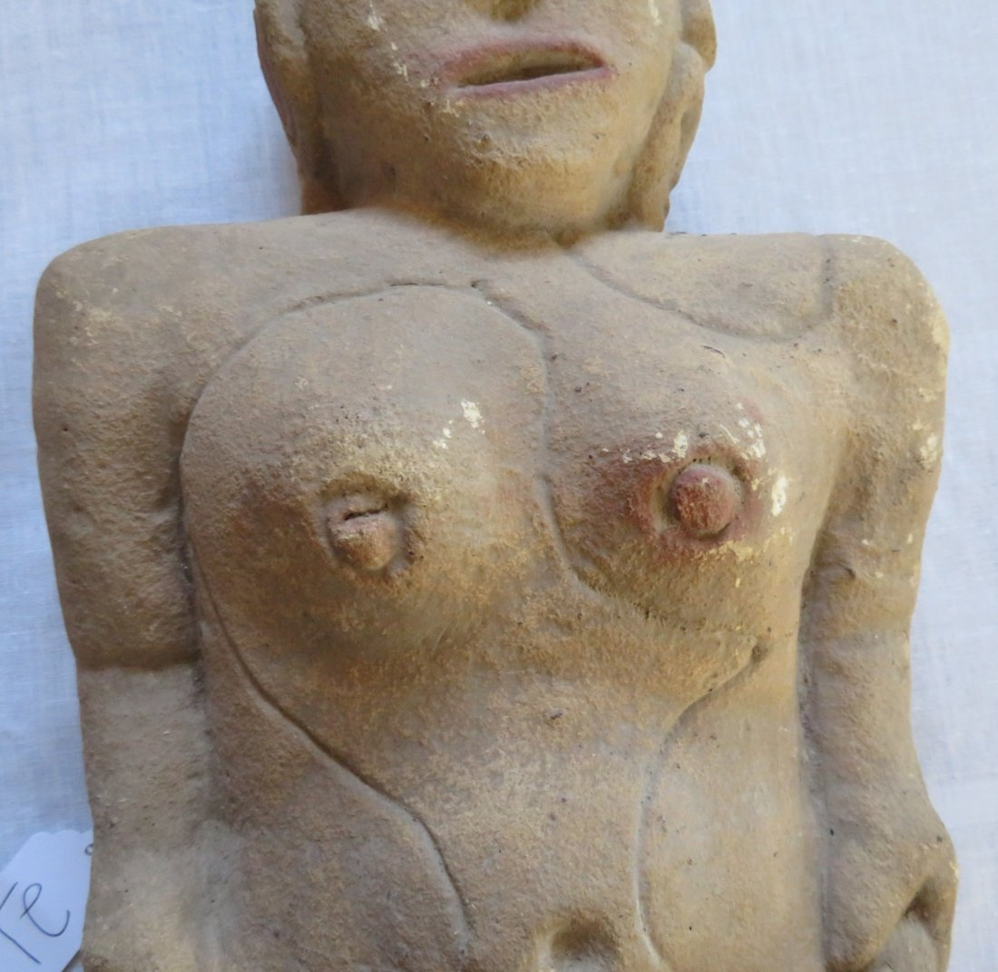 Standing Female Burial Figure - 3