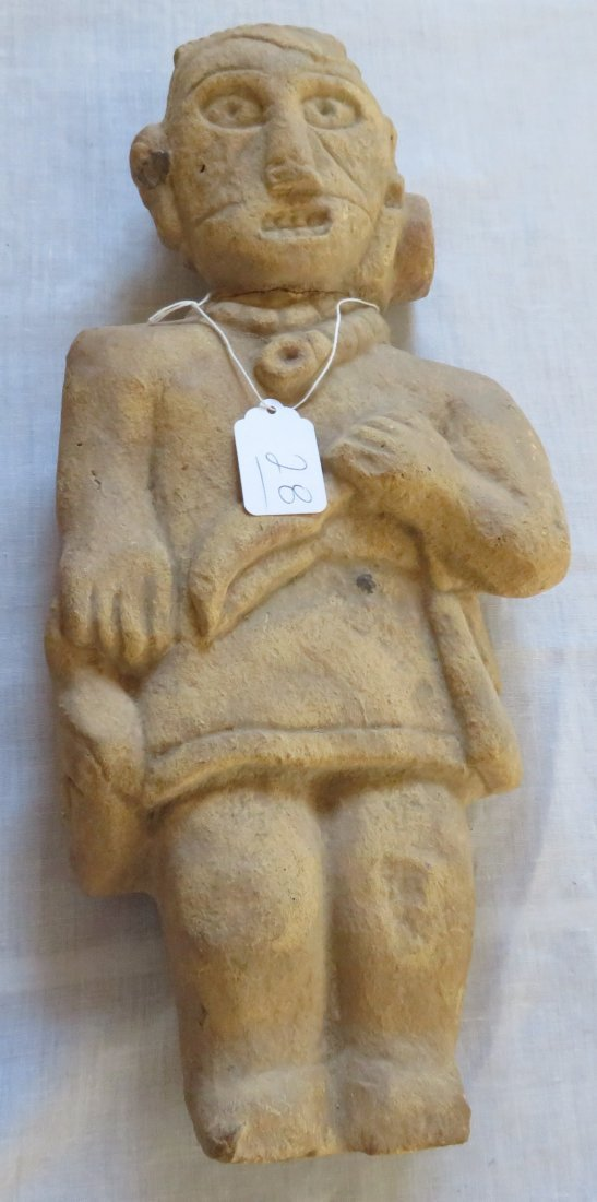 Standing Human Effigy Burial Figure
