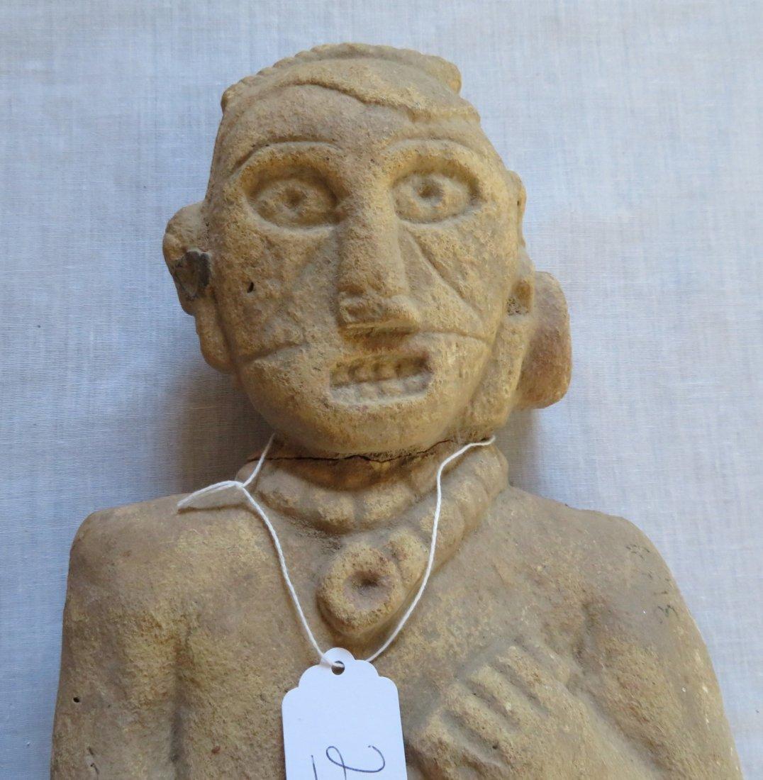 Standing Human Effigy Burial Figure - 2