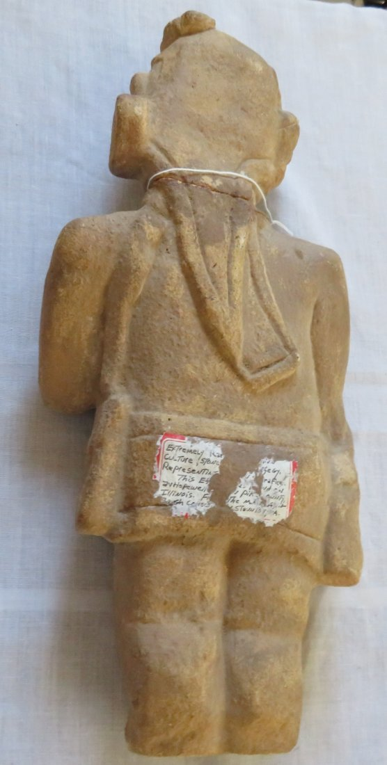 Standing Human Effigy Burial Figure - 7
