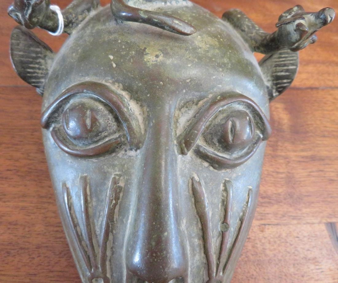 Benin Cat Bronze - 3