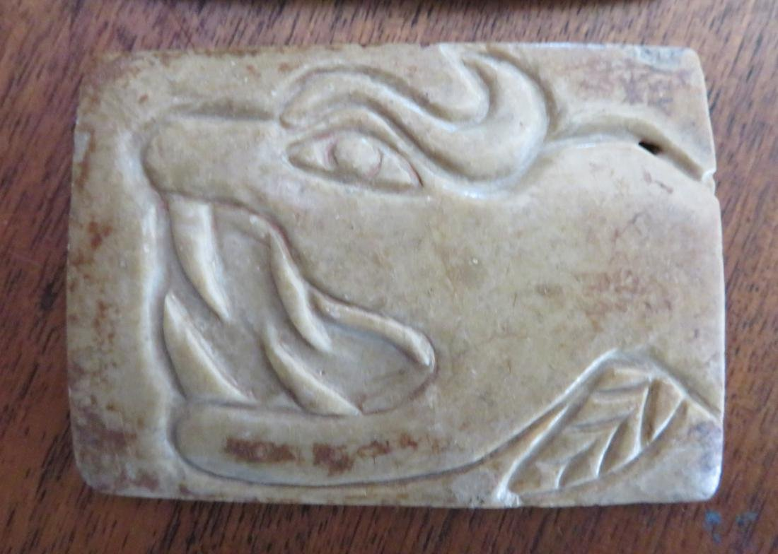 Olmec Stone Belt Plates - 3