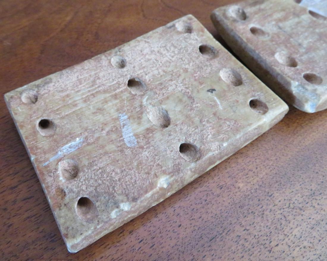 Olmec Stone Belt Plates - 7