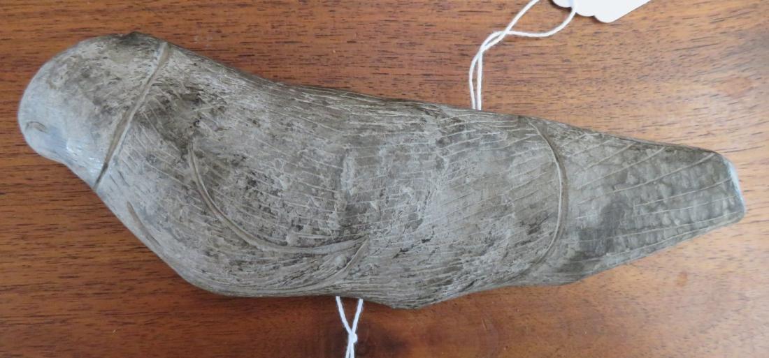 Seal Stone Effigy