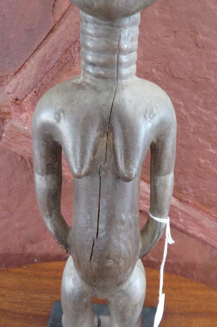 Baule Female Figure w/Stand - 3
