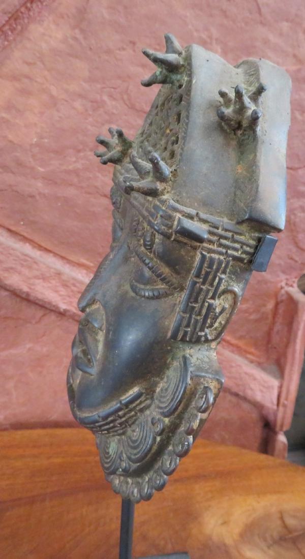 Benin Bronze w/Stand - 10