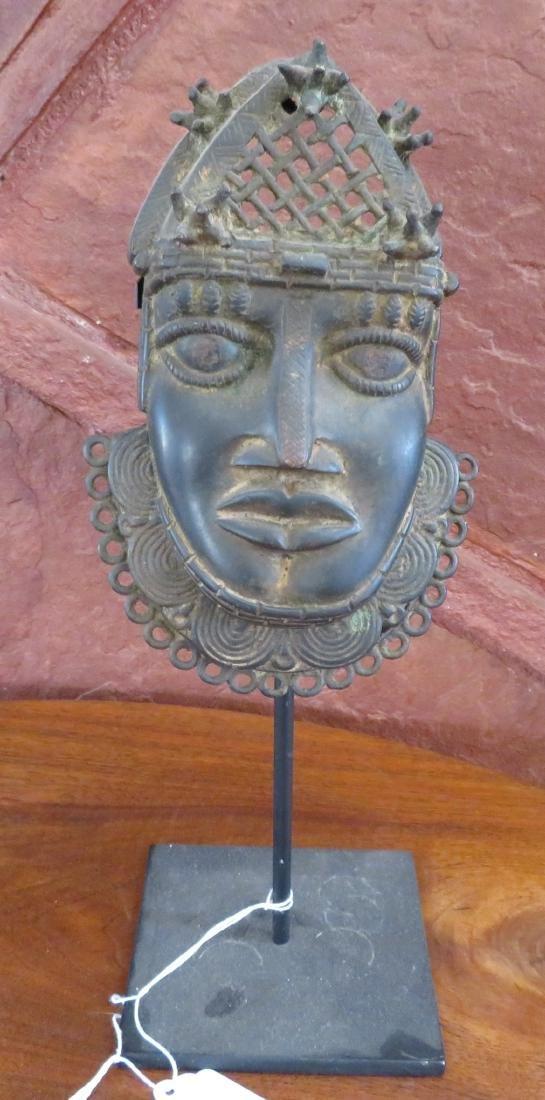 Benin Bronze w/Stand