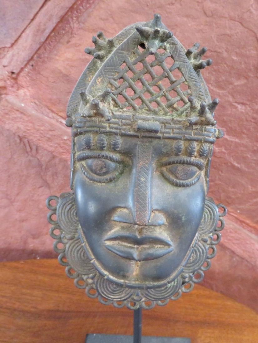 Benin Bronze w/Stand - 2